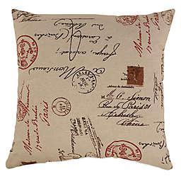 French Postale Floor Pillow