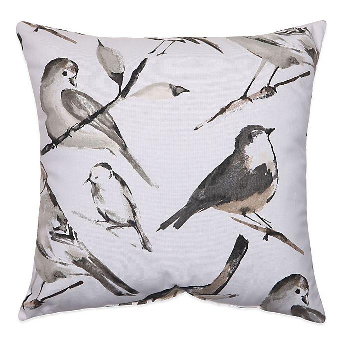 Alternate image 1 for Bird Watcher Square Throw Pillow