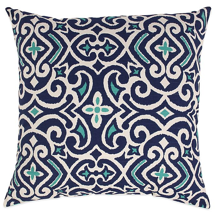 New Damask Reversible Floor Pillow Bed Bath Beyond
