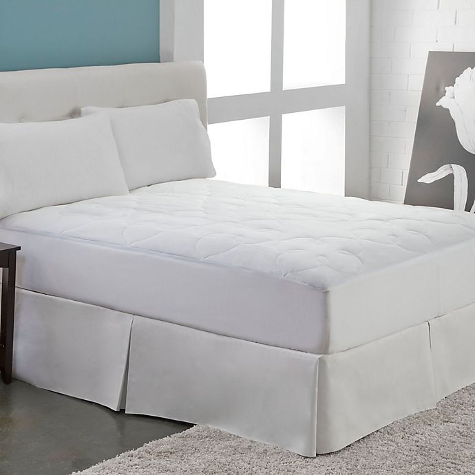 Alternate image 1 for Perfect Fit® Silky Cotton Mattress Pad