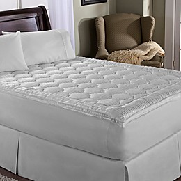 Perfect Fit® Luxury Stripe Mattress Enhancer