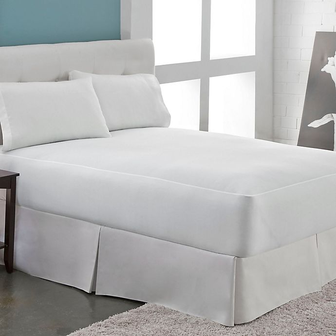 Alternate image 1 for Perfect Fit® Microfleece Waterproof California King Mattress Protector