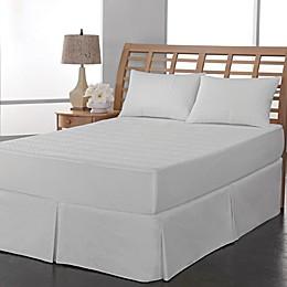 Therapedic® Peva Leaf Waterproof Mattress Pad in White