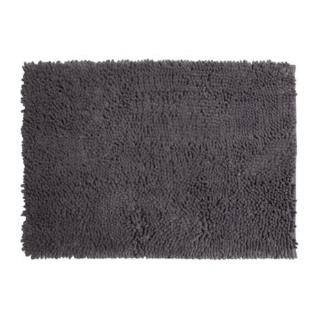Buy Super Sponge 17 Inch X 24 Inch Bath Mat In Charcoal