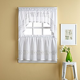 Kendra Window Curtain Tier Pair