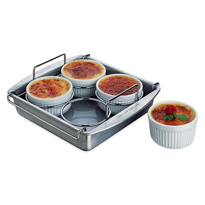 Alternate image 1 for Chicago Metallic™ 6-Piece Crème Brulee Set