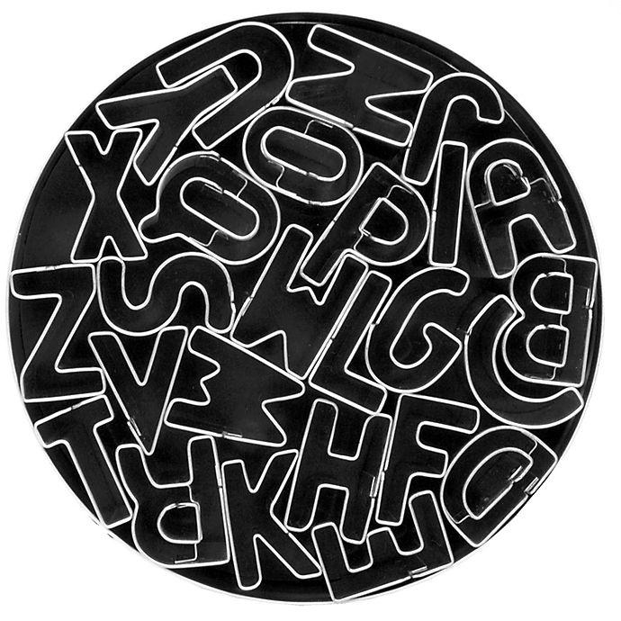 Alternate image 1 for 26-Piece Alphabet Cookie Cutter Set