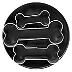 3-Piece Dog Bone Cookie Cutter Set