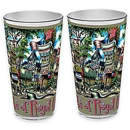 pubsOf. Royal Oak, Michigan Pint Glasses (Set of 2)