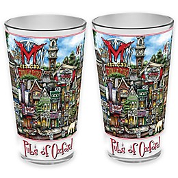 pubsOf. Oxford, Ohio Pint Glasses (Set of 2)
