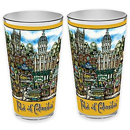 pubsOf. Columbia, Missouri Pint Glasses (Set of 2)
