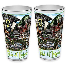 pubsOf. Eugene, Oregon Pint Glasses (Set of 2)