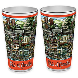 pubsOf. Corvallis, Oregon Pint Glasses (Set of 2)