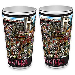 pubsOf. DeKalb, Illinois Pint Glasses (Set of 2)