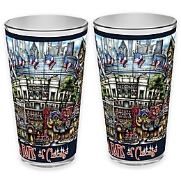 pubsOf. Da' Bars Pint Glasses (Set of 2)