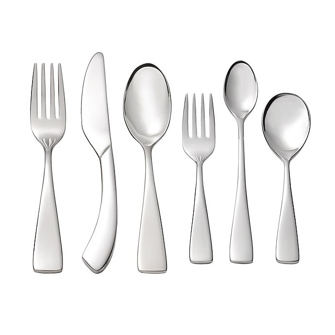 Alternate image 1 for Oneida® Curva 6-Piece Progress Children's Flatware Set