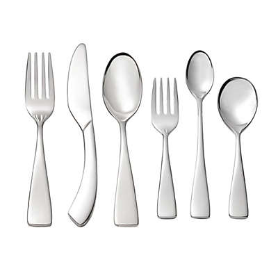 Oneida® Curva 6-Piece Progress Children's Flatware Set