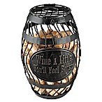 Wine Enthusiast®  Wine a Little  Wine Barrel Cork Catcher