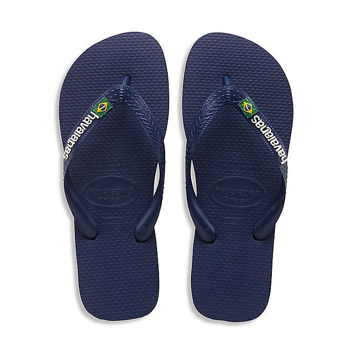 Alternate image 1 for Havaianas® Brazil Men's Sandal in Navy Blue