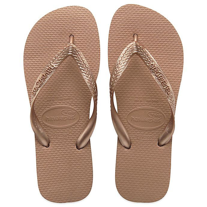 e892f8bd2f728 Havaianas® Top Metallic Women s Sandal in Rose Gold