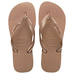 Havaianas® Top Metallic Women's Sandal in Rose Gold