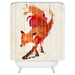 Deny Designs Robert Farkas Vulpes Shower Curtain