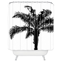 Deny Designs Deb Haugen Shower Curtain in Black and White