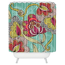 Deny Designs Valentina Ramos Beatriz Shower Curtain in Green