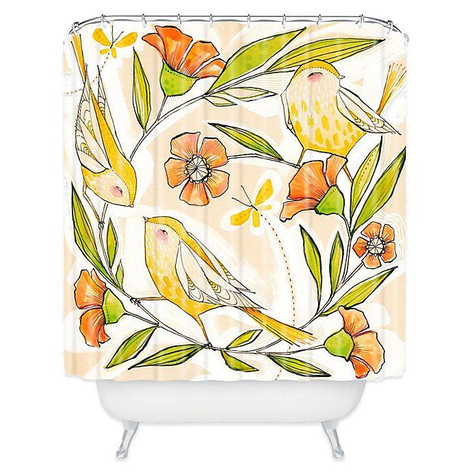 Deny Designs Cori Dantini Hy Family Single Shower Curtain