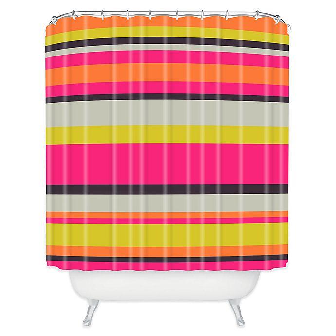 Alternate image 1 for Deny Designs Caroline Okun Adrift Shower Curtain in Pink