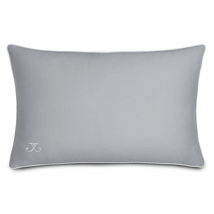 Alternate image 1 for Jill Rosenwald Quatrefoil Oblong Throw Pillow in Grey