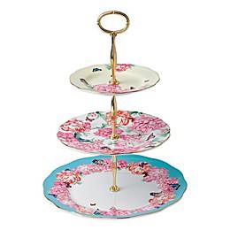 Royal Albert Devotion Gratitude & Joy 3-Tier Cake Stand