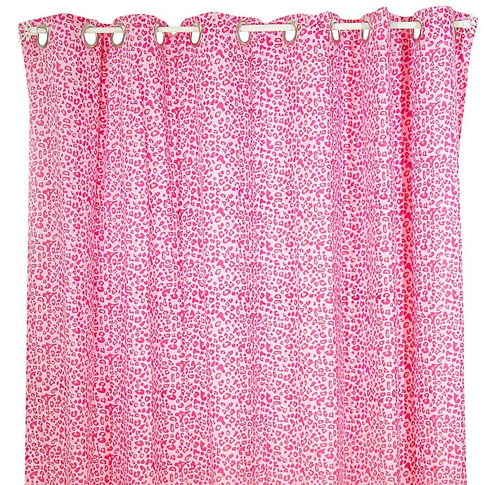 Alternate image 1 for Pam Grace Creations Tabby Cheetah Shower Curtain