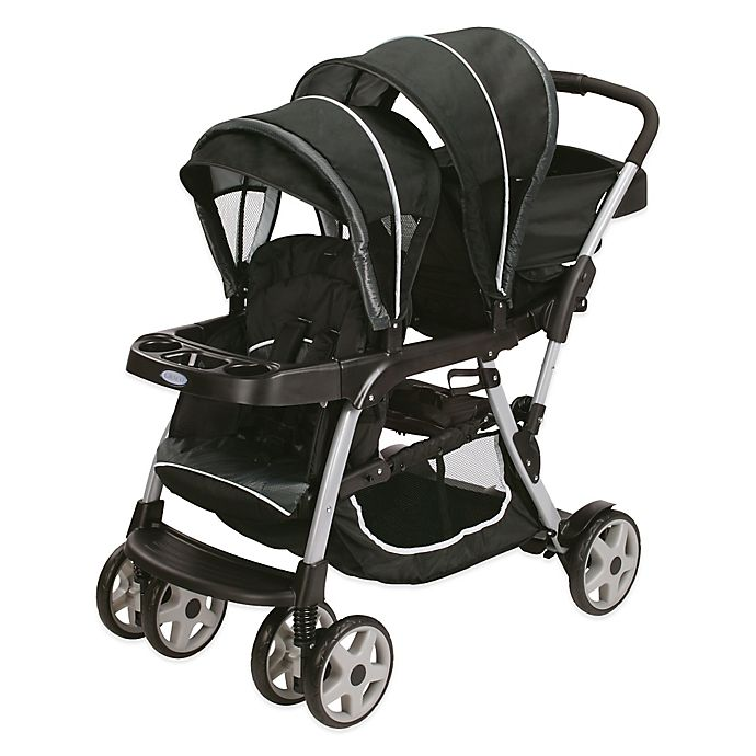 Alternate image 1 for Graco Ready2Grow™ Click Connect™ LX Stand & Ride Stroller in Gotham™