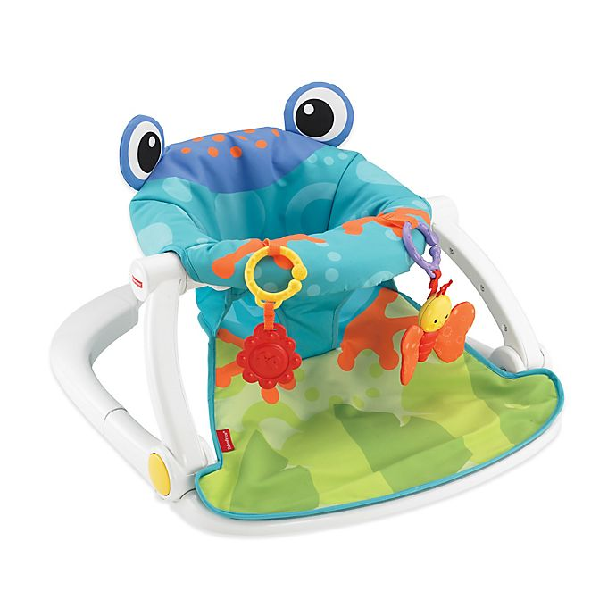 Alternate image 1 for Fisher-Price® Froggy Sit-Me-Up Floor Seat