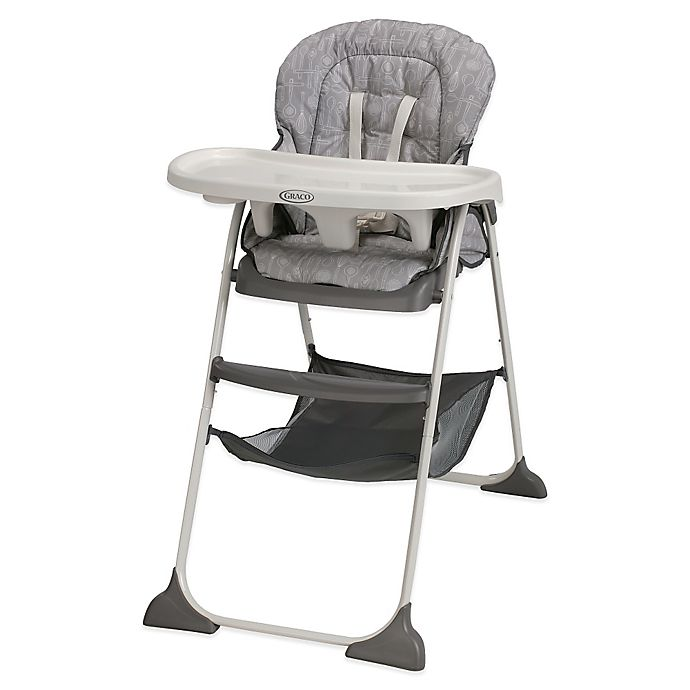 Graco Slim Snacker High Chair In Whisk Bed Bath Beyond