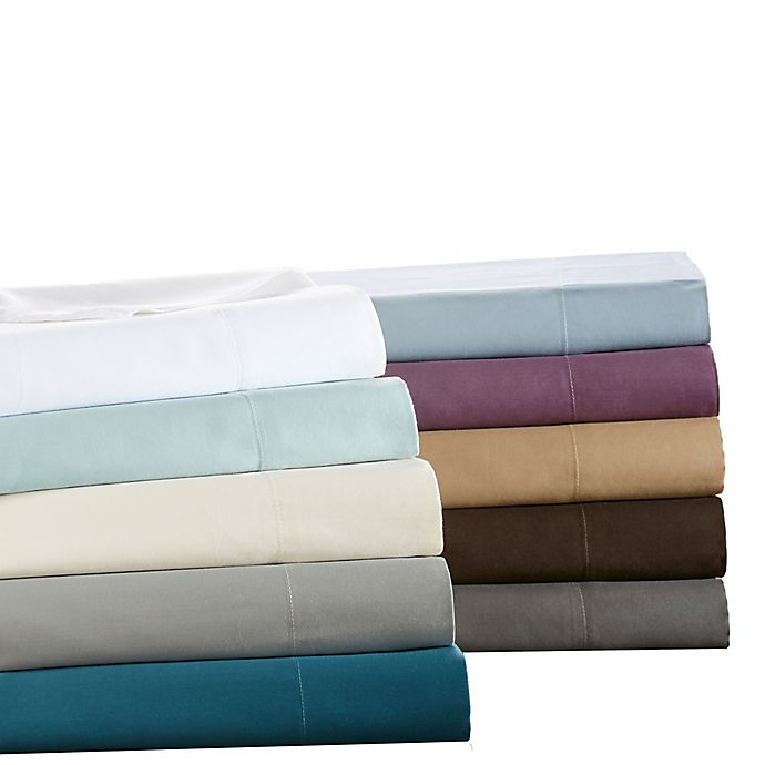 Alternate image 1 for Sleep Philosophy Liquid Cotton Sheet Set