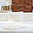 Part of the Beantown Bedding Laundry-Free Linens Luxury Disposable Sheet Set in White