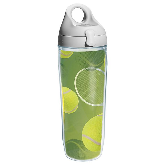 Alternate image 1 for Tervis® Tennis Balls 24 oz. Water Bottle with Lid