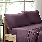 Sleep Philosophy Liquid Cotton King Sheet Set in Purple