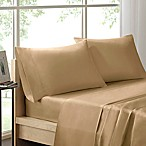 Sleep Philosophy Liquid Cotton Queen Sheet Set in Khaki