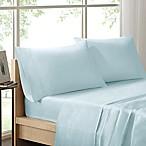 Sleep Philosophy Liquid Cotton Queen Sheet Set in Seafoam