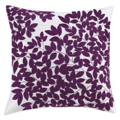 Kas 174 Winchester Square Throw Pillow In Purple Bed Bath