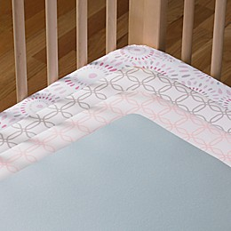 Living Textiles Baby Mix & Match Fitted Crib Sheet