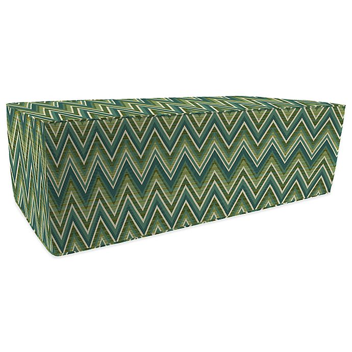 Admirable Print 20 Inch X 50 Inch Outdoor Pouf Ottoman Boxed In Frankydiablos Diy Chair Ideas Frankydiabloscom