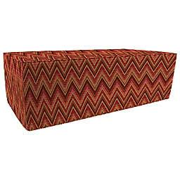Print 20-Inch x 50-Inch Outdoor Pouf Ottoman-Boxed in Sunbrella® Fabric
