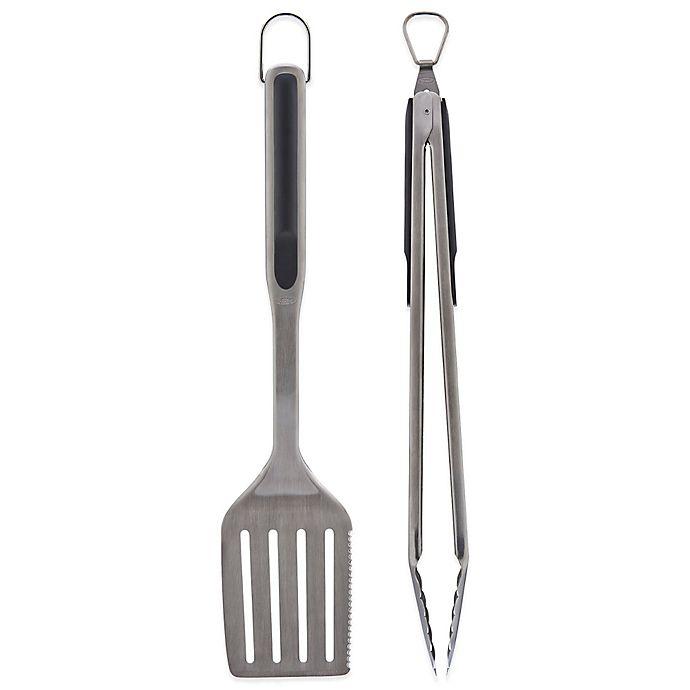 Alternate image 1 for OXO Good Grips® 2-Piece Grilling Utensil Set