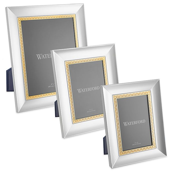 Waterford® Lismore Lace Frame in Gold | Bed Bath and Beyond Canada