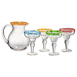 Artland® Mingle 5-Piece Margarita Set in Multi