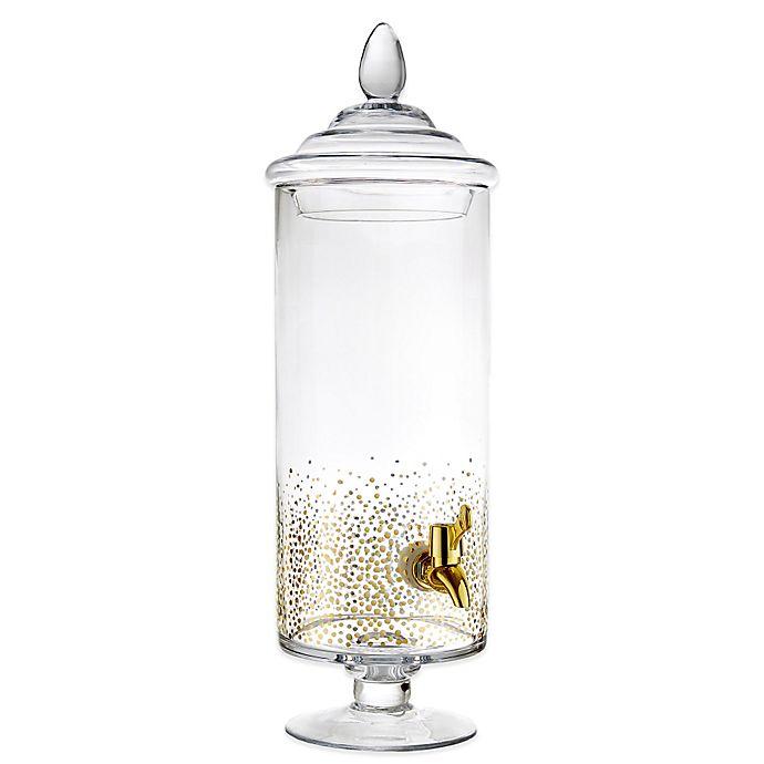 Alternate image 1 for Fitz and Floyd® Luster Beverage Dispenser in Gold